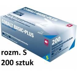 COBALT BASIC-PLUS nitrylowe mocne rękawice rozmiar S 200