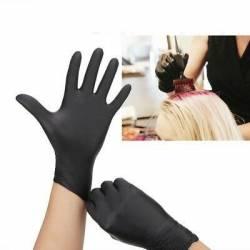 Rękawice nitrylowe roz. XL  BLACK MASTER