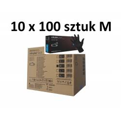 NITRYLEX BLACK M 10x100szt