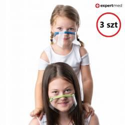 Mini przyłbica KIDS 3 szt