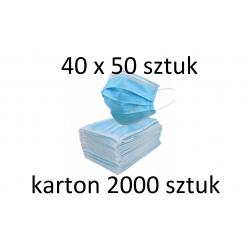 Maseczki 2000 sztuk